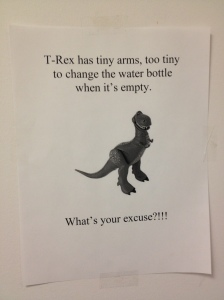 t rex water cooler
